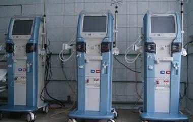 В Демидовской больнице заработали новые аппараты для гемодиализа