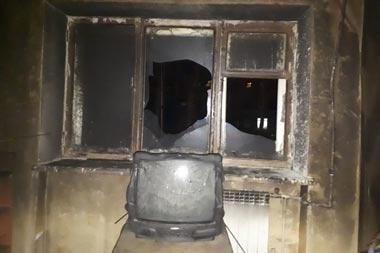 На Газетной выгорела квартира, хозяин в больнице