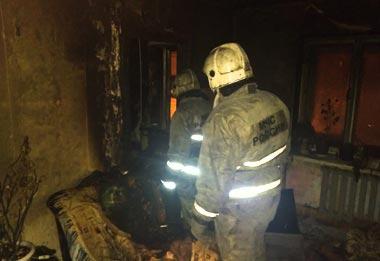 На Северном поселке во время пожара погибла женщина