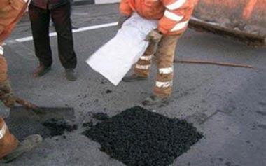 Ямочный ремонт дорог начали дорожники Нижнего Тагила
