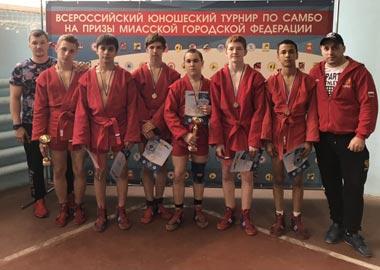 Тагильчане завоевали медали на Всероссийском турнире по самбо