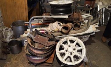 В Нижнем Тагиле изъято около 10 тонн лома черных и цветных металлов