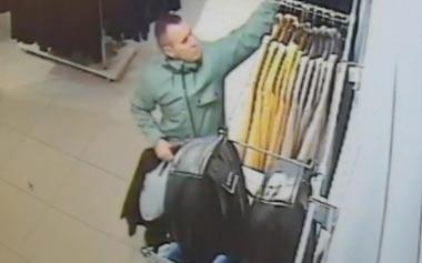 Розыск подозреваемого в кражах из магазина одежды