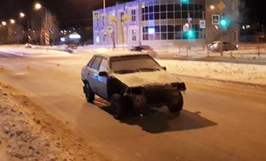 На Вагонке водитель-бесправник сбил женщину на переходе