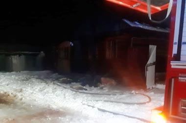 В Черноисточинске сгорел частный дом