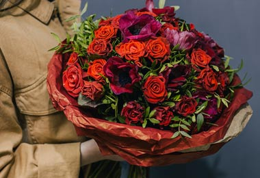 Быстрая доставка цветов – мы работаем с удовольствием